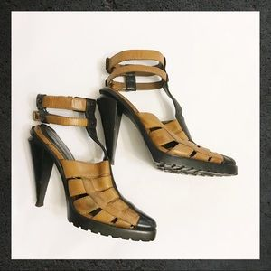 4385a3b0df32 Alexander Wang Shoes - Alexander Wang Abbey Ankle-strap Leather Sandals